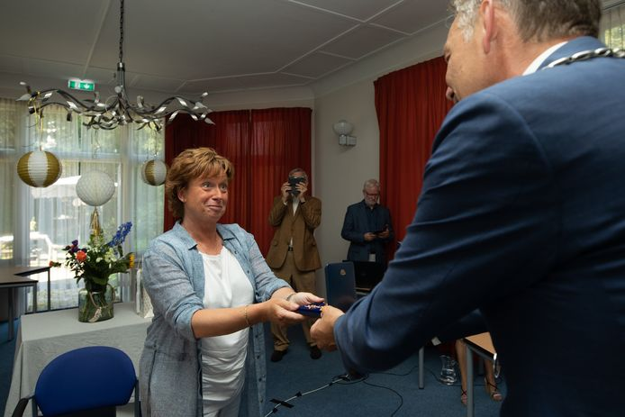 Retirement ceremony of Ria Broekgaarden