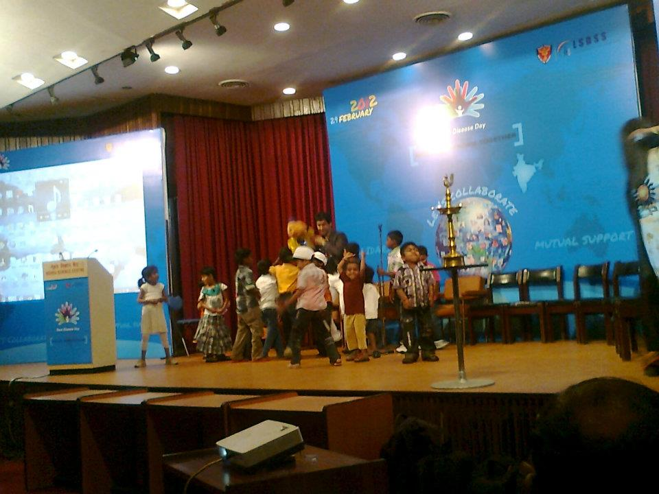 rare disease day 2012 lsd support india